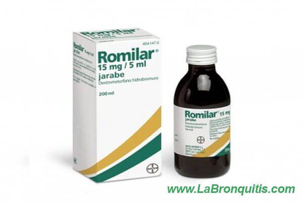 Medicamento Romilar 15mg