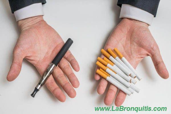 opciones para dejar de fumar tabaco
