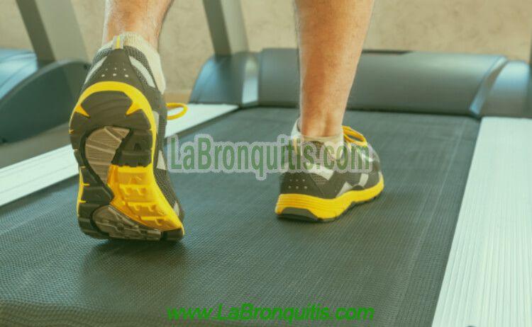 Bronquitis y Ejercicio Físico Beneficios Cinta de Correr Eléctrica