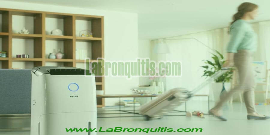 Purificador de aire en una casa